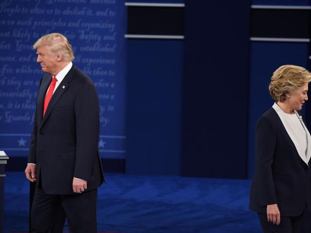 US Presidentail debate,Hillary CLinton,Donald Trump