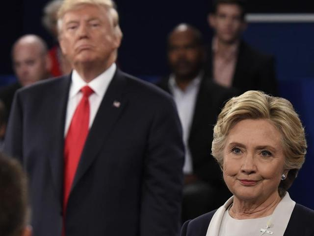 US presidential election,second US presidential debate,Hillary Clinton