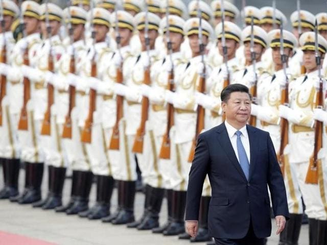 China's President Xi Jinping will fly out of Cambodia for Bangladesh on October 14.
