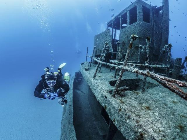 Divers can go deeper and explore further with a range of expert courses.