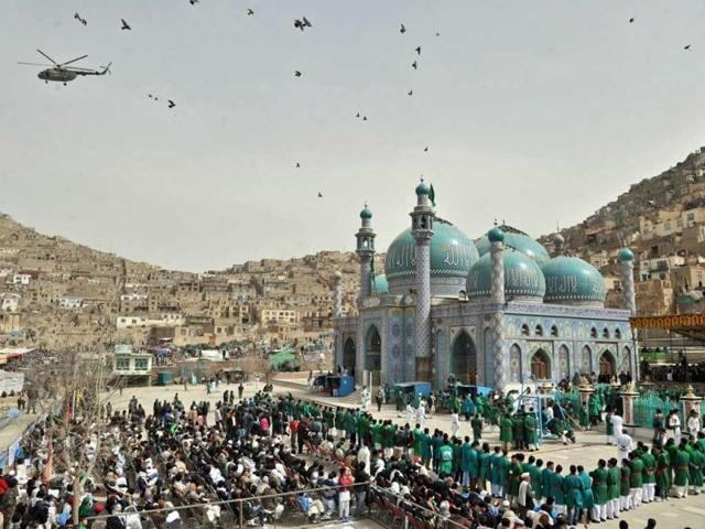 An unknown number of gunmen entered Sakhi shrine in Kabul on Tuesday and opened fire on worshippers gathered to commemorate a major Islamic holy day.