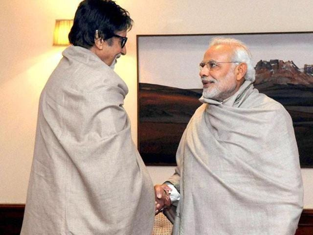 Bachchan was honoured with the Padma Vibhushan, the country's highest civilian honour in 2015.