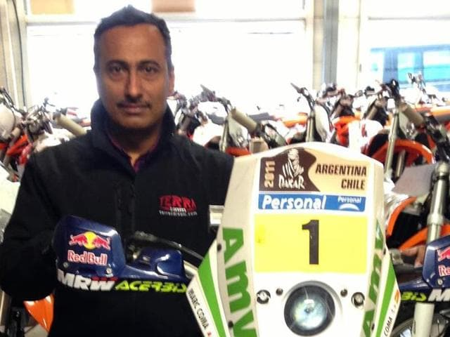 Subhamoy Paul, who was 49, had been living in Romania over the last six months. He was doing enduro and trail riding there and was physically in a much better state than his previous outings in the Raid.