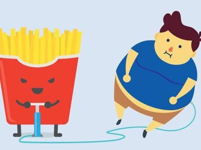 The researchers, using data prepared by the Global Burden of Disease collaborative for 2000 and 2013, estimated that by 2025, some 268 million children, aged between five and 17 years, may be overweight.(Representational Image: Shutterstock)
