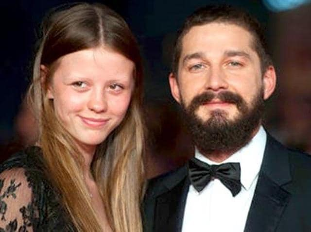 "Shia LaBeouf was once caught on camera admitting he ""would have killed"" girlfriend Mia Goth."