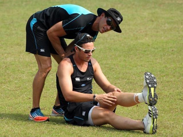 Chris Donaldson,New Zealand Conditioning Coach,India vs New Zealand