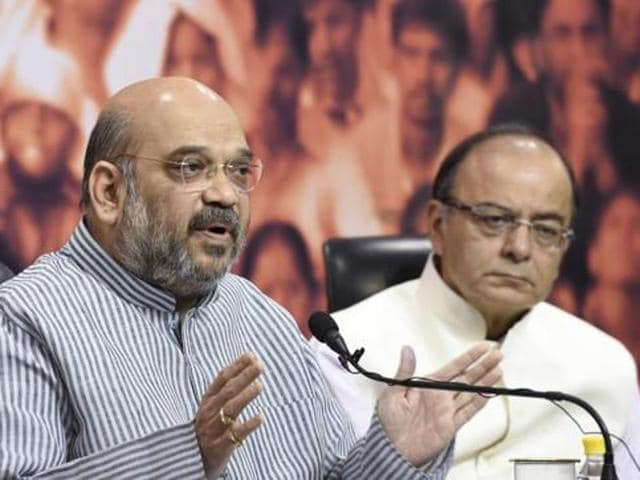 Top BJP leaders Amit Shah and Arun Jaitley are likely to visit chief minister J Jayalalithaa at the Apollo Hospital here on Wednesday.
