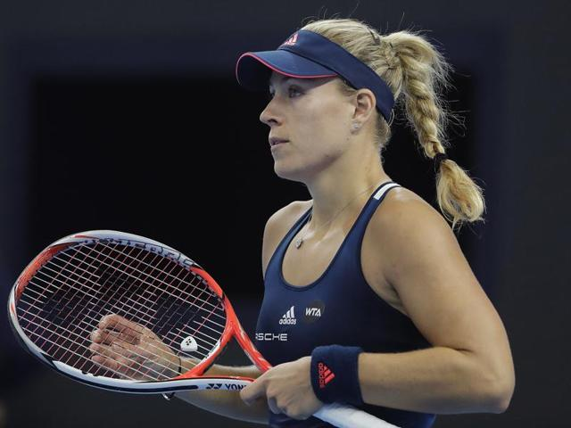 Angelique Kerber won all her three matches in the season-ending WTA Finals to finish at the top of the Red Group.