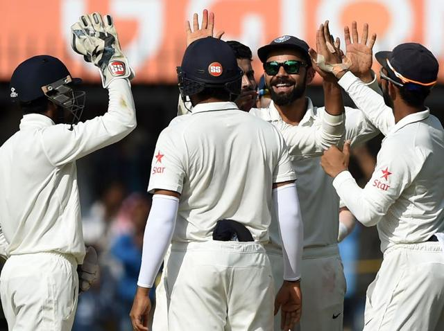Ravichandran Ashwin put India firmly in command after he claimed six wickets to help bowl out New Zealand for 299 in their first innings.