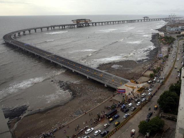 Mumbai,Boastal water,Bandra Worli