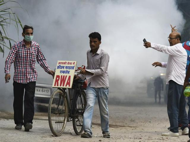 The RWA at Freedom Fighter Enclave has bought a fogging machine to conduct fumigation.