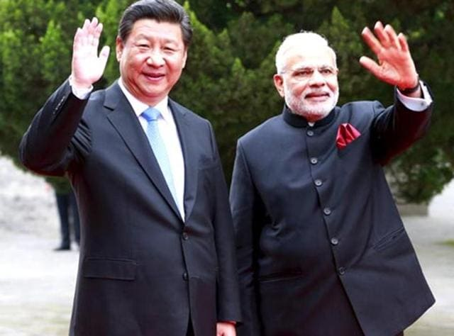PMNarendra Modi (left) and Chinese President Xi Jinping: On the issue of terror, Beijing has chosen to act when its interests have been affected