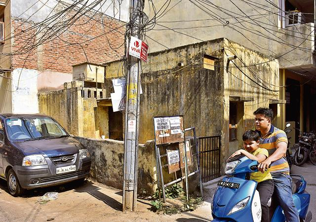 The house at Kalkaji in south Delhi where Govind Ram and his wife, Gopi, lived fo 42 years.