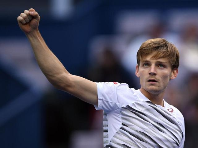 Goffin won the three-set match in two hours, 18 minutes.