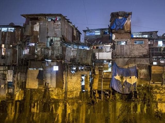 The press release states that the issue of 45,000 slums on MbPT land was likely to be resolved with the Union ministry of shipping led by Nitin Gadkari, promising to move a cabinet note for redevelopment of slums and cessed buildings on this land at the same site.