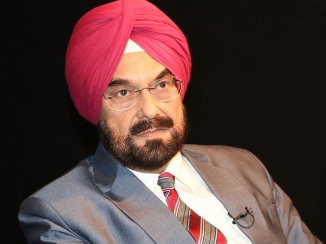 Aam Aadmi Party (AAP) leader Kanwar Sandhu