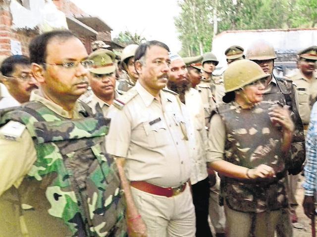 UP,Communal clashes,Durga idol immersion