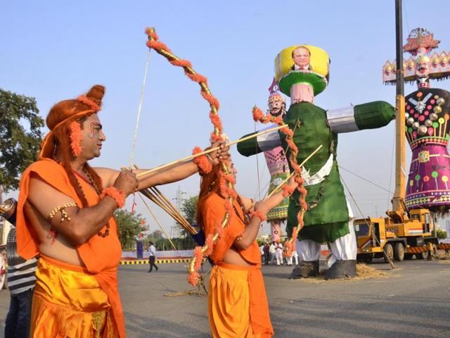 Pakistan effigies