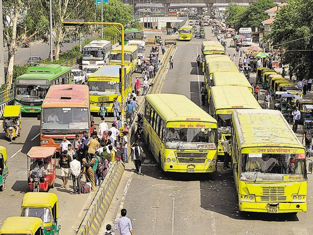 Noida and Greater Noida have just 276 state transport buses to cater to a population of 10 lakh people.