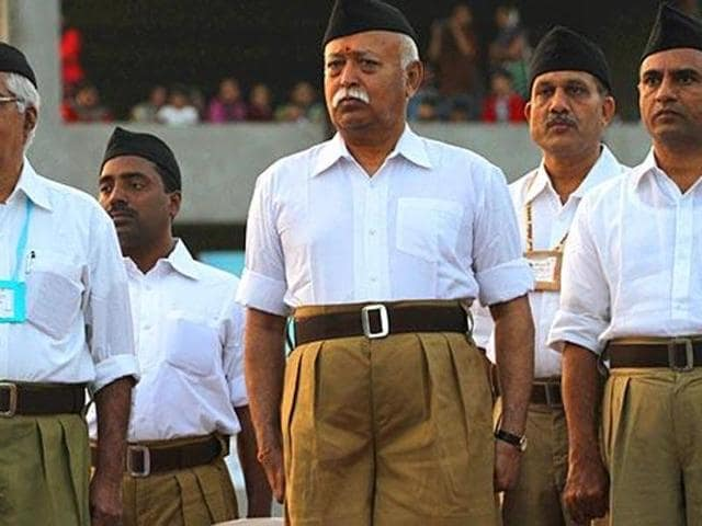 RSS chief Mohan Bhagwat mentioned four carefully chosen names during his annual Vijayadashami speech on Tuesday.