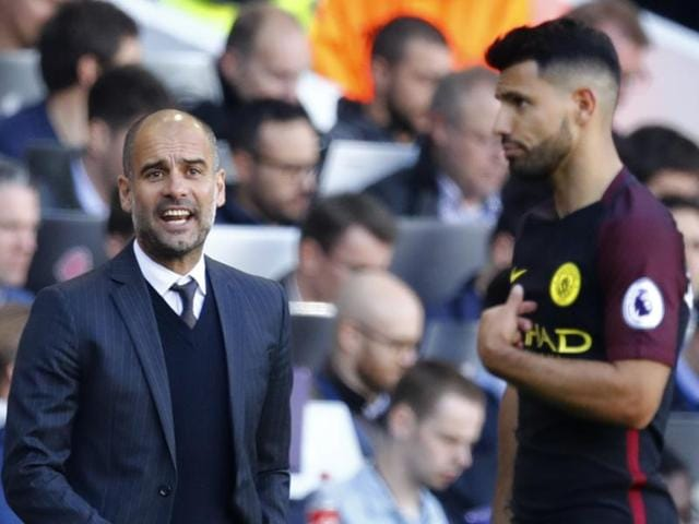 Aguero has made a strong start to life under Guardiola, scoring 11 goals in eight appearances for City.
