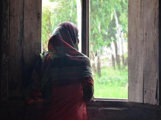 Raped and not allowed to abort the foetus, the 14-year-old (pictured) finally delivered a boy in an ambulance early Thursday after a nurse at a community health centre in Uttar Pradesh's Shergarh examined her but declined to help on learning that she was a rape survivor
