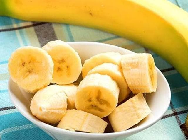 Bananas have carotenoid -- a compound that turn fruits and vegetables red, orange or yellow and are converted into vitamin A, important precursors for eye health -- in the liver.