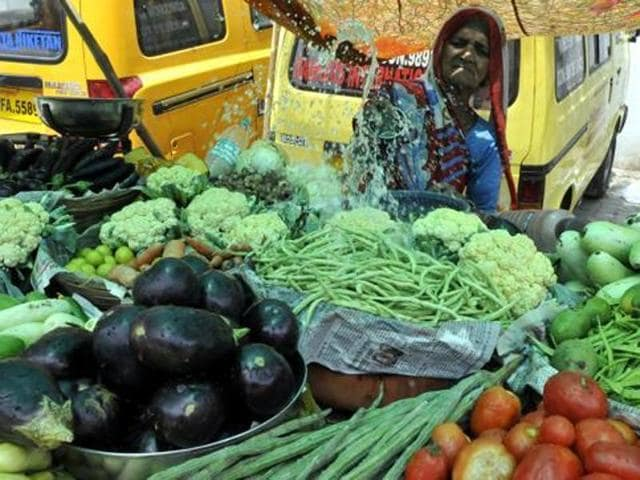 All these vegetables arrive by trucks from the districts and other states. On the way the vehicles are frequently stopped by members of local clubs who force the driver to cough up subscriptions for the pujas. The menace will peak before Diwali.