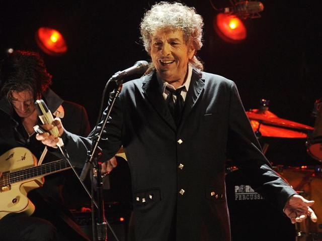Dylan, 75, is arguably the most iconic poet-musician of his generation.