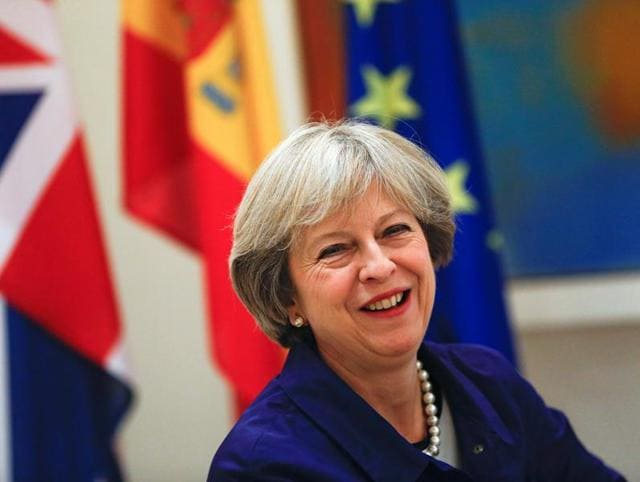 Britain,Prime Minister Theresa May,secret government study