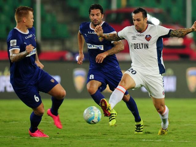 Indian Super League,Marco Materazzi,Chennaiyin FC