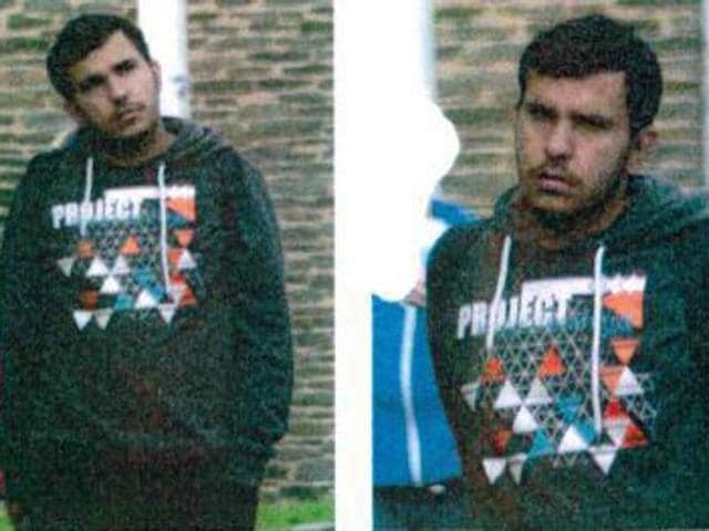 This handout picture shows Jaber Al-Bakr suspected of plotting terror attacks in Germany.