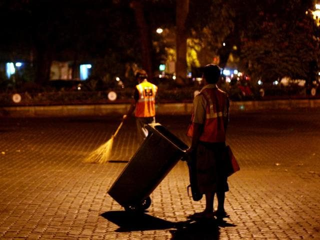 Cleanliness drive in Delhi,Night sweeping,Festival season