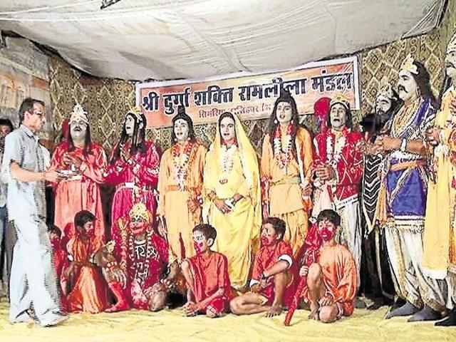 Simariya villagers in Narsinghpur district observe Muharram and organise a Ramlila.
