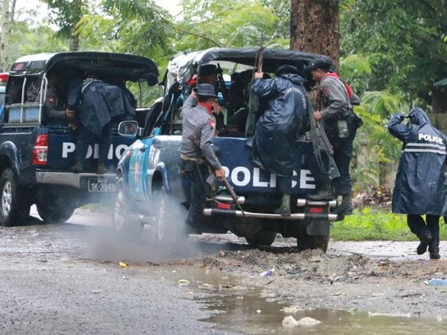 Myanmar,Rakhine,border dispute