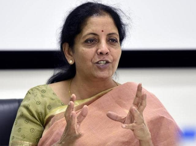 Image result for India's trade deficit with China is a concern: Sitharaman