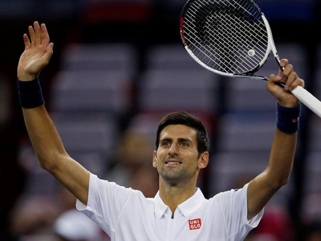 Djokovic weathered 12 aces and 28 winners from Pospisil before completing the 79-minute victory.