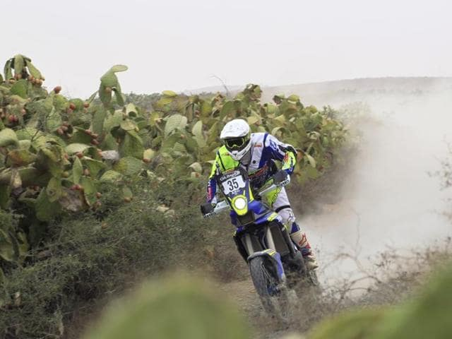 The Bengaluru-based Aravind finished the October 3-7 rally in 26th position to gain entry to the Dakar Rally.
