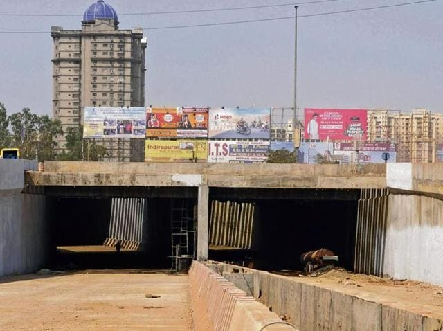 The authority aims to open the underpass, under construction for over two years, before Diwali.