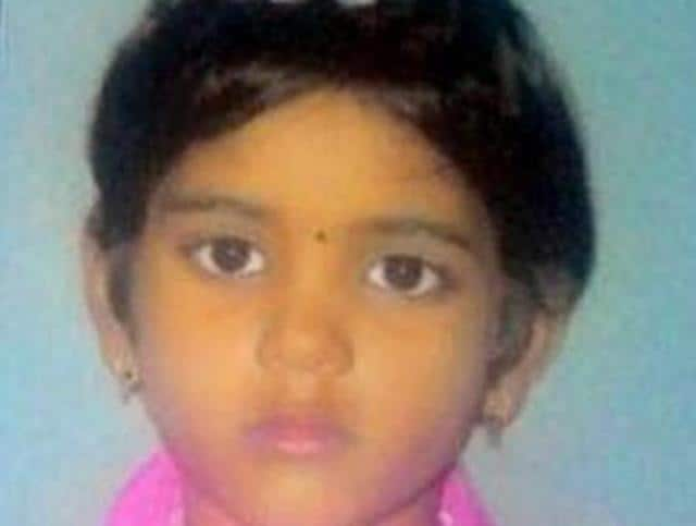 Victim Vaishnavi Bohare had gone out to play and went missing around 2:30pm.