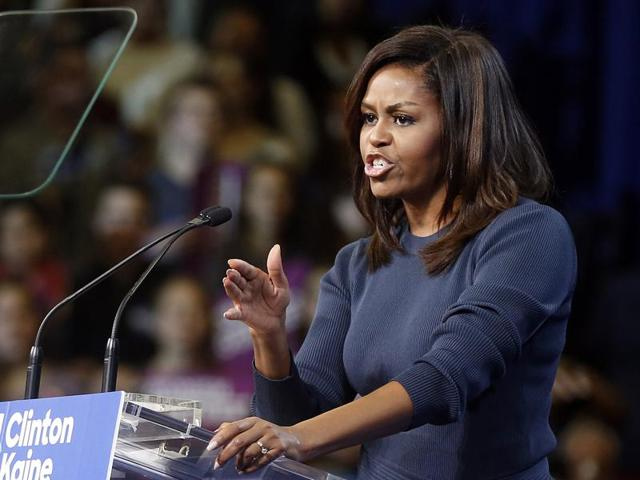 Donald Trump,Michelle Obama,US Presidential Elections