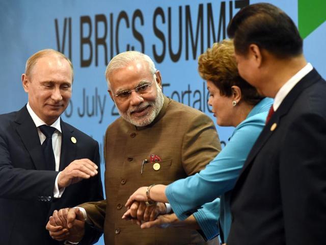 BRICS,India,China