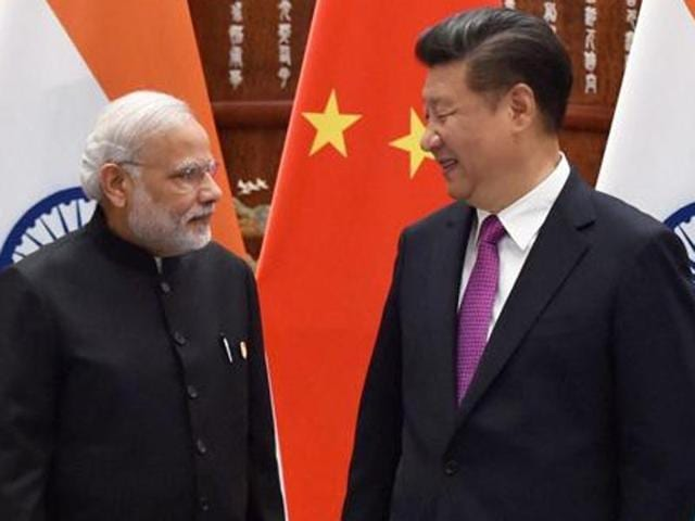 File photo of Prime Minister Narendra Modi and Chinese President Xi Jinping.