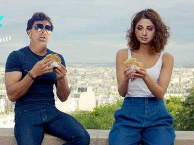 A photoshopped poster of Befikre, Faces of Rishi Kapoor and Sridevi have been put on those of Ranveer Singh and Vaani Kapoor.
