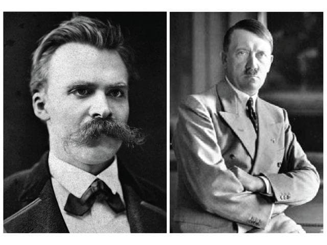 Philosopher Friedrich Nietzsche's ideas were appropriated by the Nazis as a justification for their twisted actions.