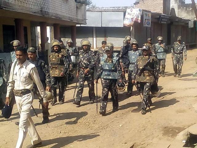Prohibitory orders under Section 144 are still in place at Gandhwani in Dhar district as well as Pipliya village.