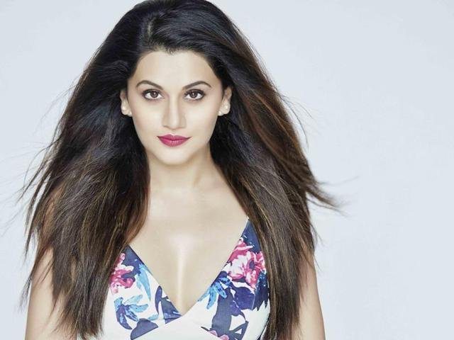 Taapsee Pannu is currently working on Makhna and Naam Shabana