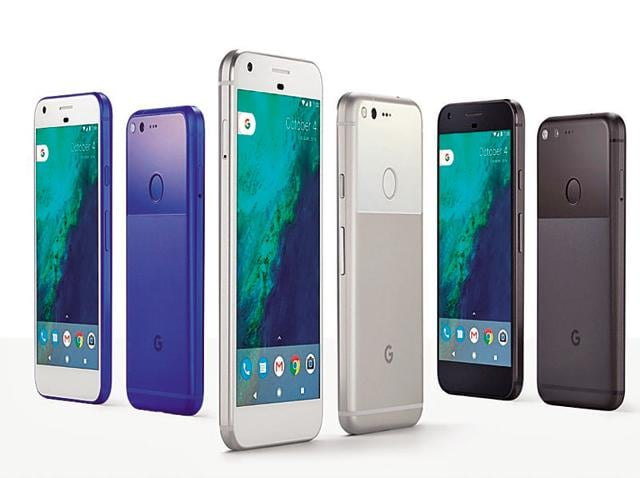 The entire range of products from Google