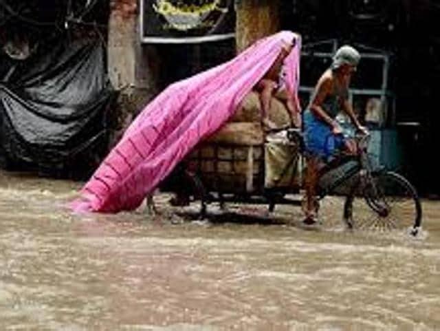 rains,Kolkata,Durga Puja