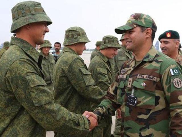 Russia,Pakistan,Military exercise
